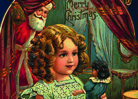Wooden Christmas Card 02 - Pack of 6