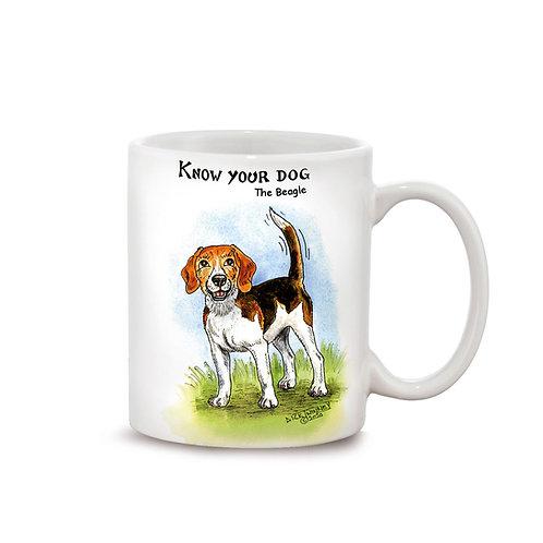 Beagle - 11oz Mug - Know Your Dog - Pack of 6