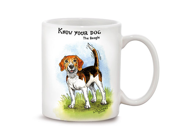 Beagle - 11oz Mug - Know Your Dog - Pack of 6