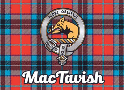MacTavish: Glass Coaster, Pack of 6