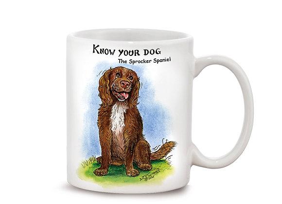 Sprocker Spaniel - 11oz Mug - Know Your Dog - Pack of 6