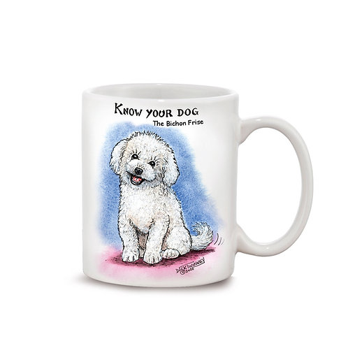 Bichon Frise - 11oz Mug - Know Your Dog - Pack of 6