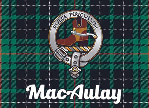 MacAulay: Glass Coaster, Pack of 6