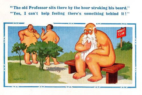 Beard - Donald McGill - Postcards Pack of 48