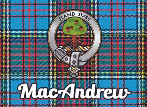 MacAndrew: Glass Coaster, Pack of 6