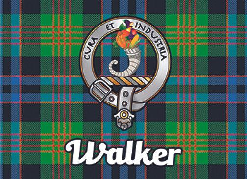 Walker: Glass Coaster, Pack of 6