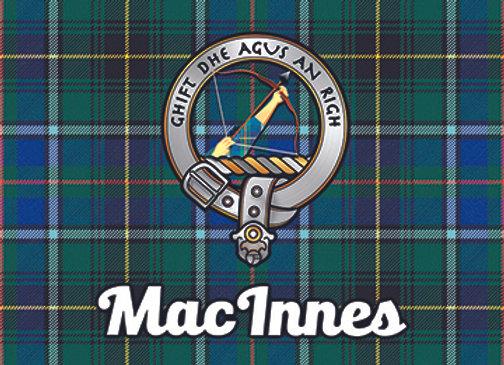 MacInnes: Glass Coaster, Pack of 6