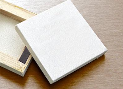 Canvas Fridge Magnet 7 x 7cm - Pack of 24