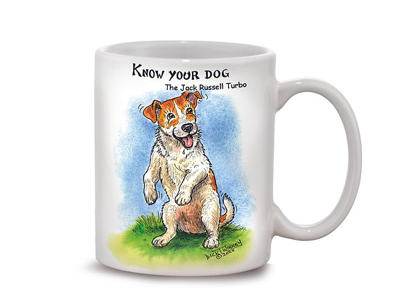 Jack Russell Turbo - 11oz Mug - Know Your Dog - Pack of 6