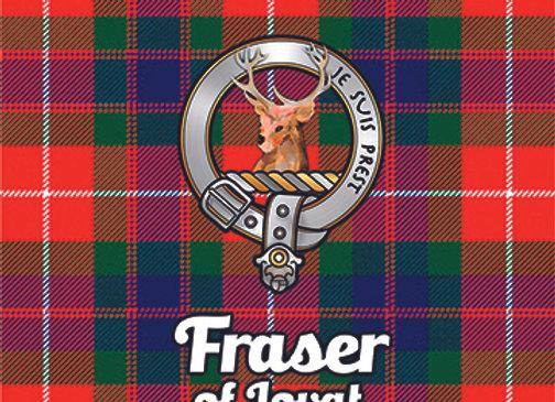 Fraser of Lovat: Glass Coaster, Pack of 6