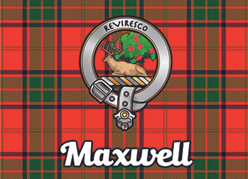 Maxwell: Glass Coaster, Pack of 6