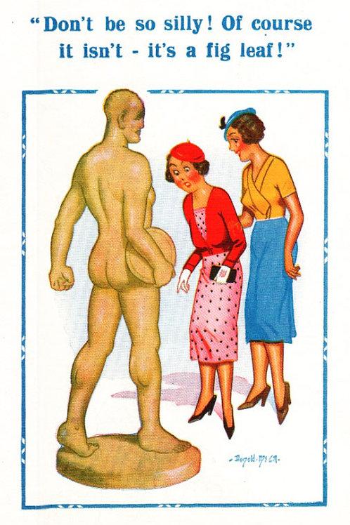 Fig Leaf - Donald McGill - Postcards Pack of 48