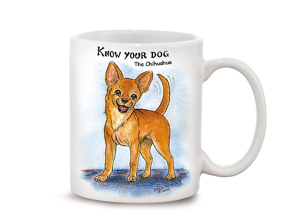 Chihuahua - 11oz Mug - Know Your Dog - Pack of 6