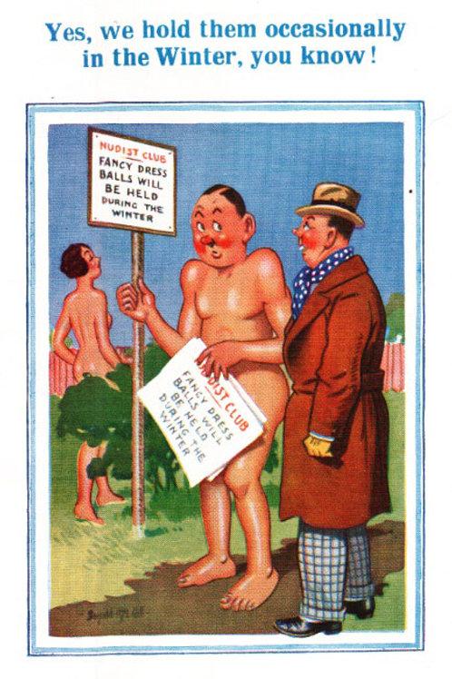 Balls - Donald McGill - Postcards Pack of 48