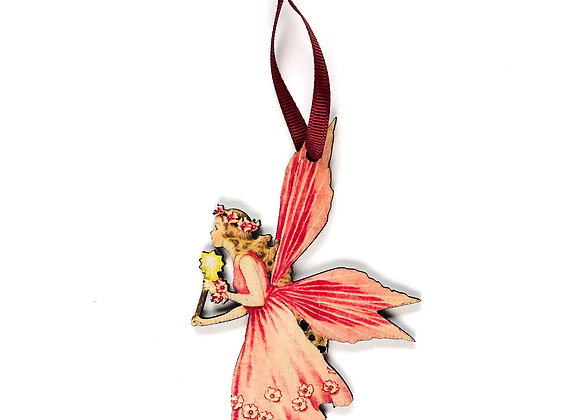 Fairy - Wooden Tree Hanger - Pack of 12