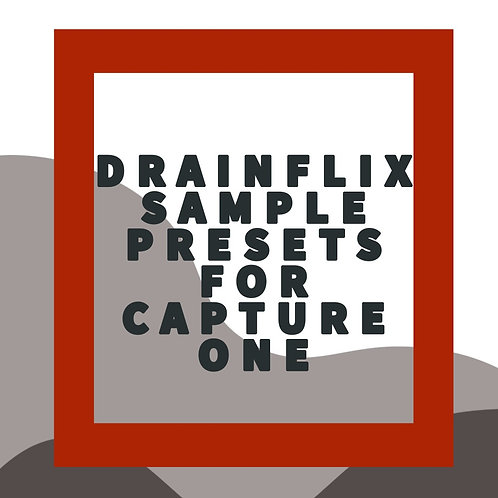 Drainflix Free Style Sample Set For Capture One
