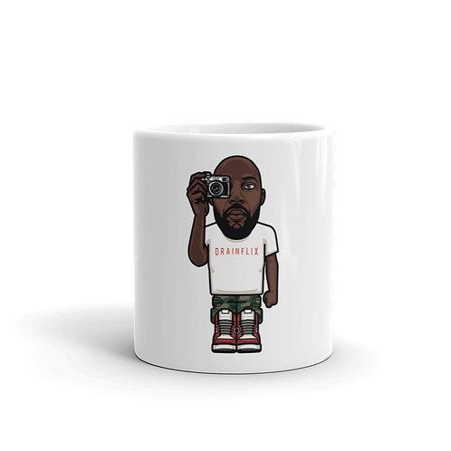 Drainflix Character White Mug