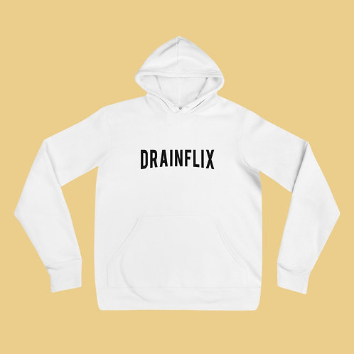 Drainflix Classic Logo With Black Lettering