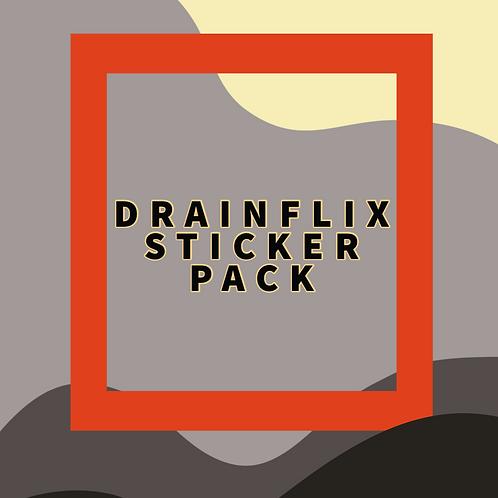 Drainflix Sticker Pack