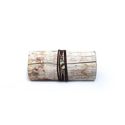 Chrysoprase Wrap Bracelet/Necklace