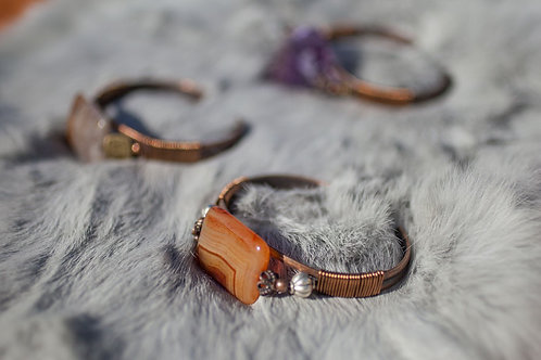 Jasper Cuff Bracelet