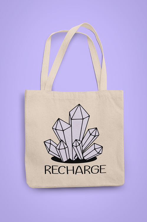 Recharge Organic Tote