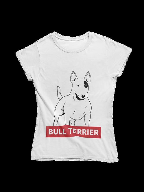 Bull Terrier Ladies Tee