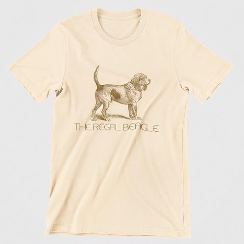 The Regal Beagle Men/Unisex T-shirt
