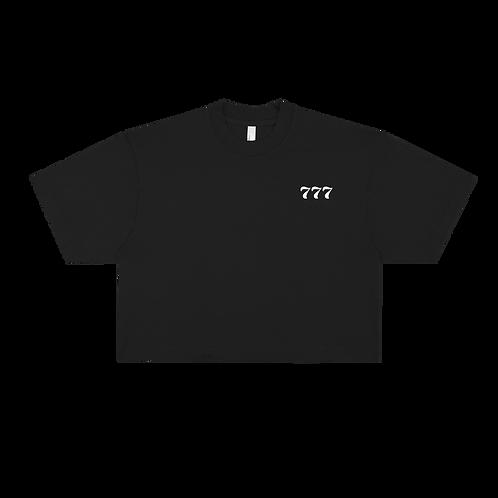 777 Angel Number Crop Top