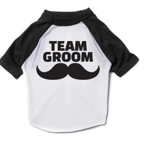 Team Groom Dog Tee
