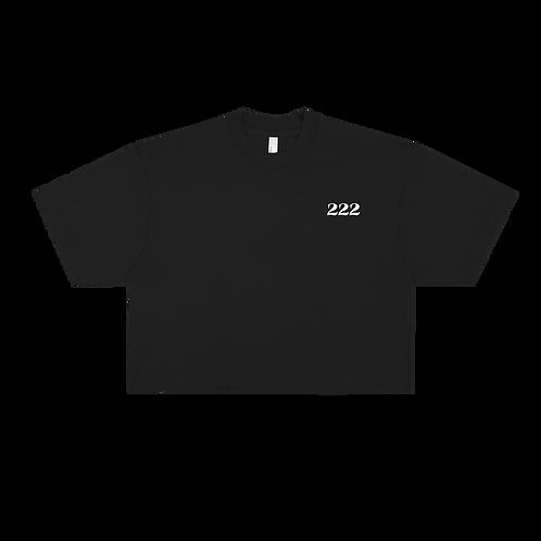 222 Angel Number Crop Top