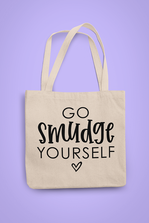Go Smudge Yourself Organic Tote