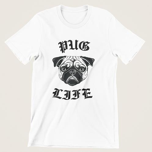 Pug Life Mens/Unisex Tee