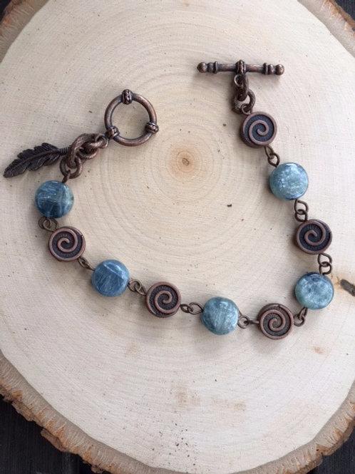 Kyanite Handmade Stone Bracelet