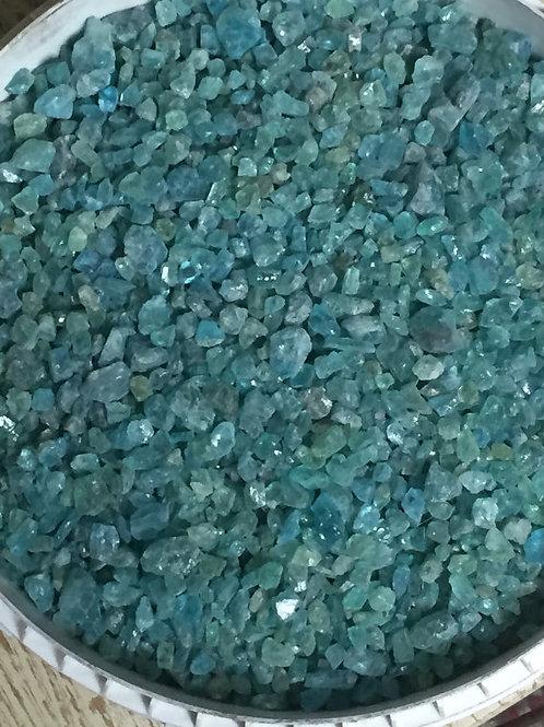 Blue Apatite Crystals