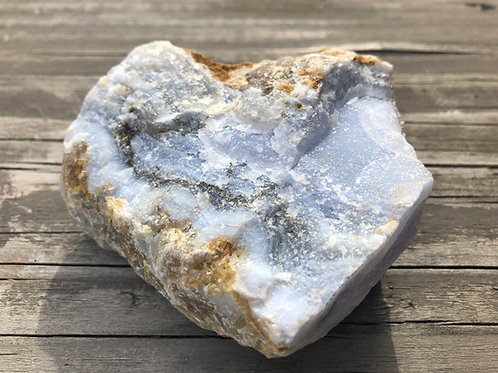 Blue Lace Agate -  Rough Stone from Namibia
