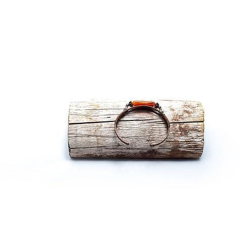 Carnelian Cuff Bracelet