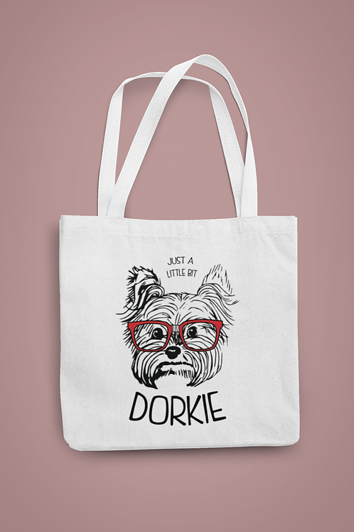Just A Little Dorkie Tote