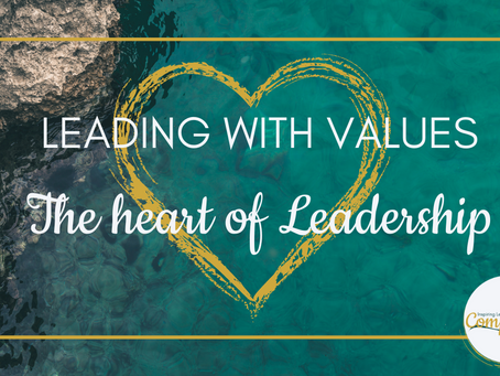 Leading with Values - How to ensure your leadership values align with your leadership behaviours