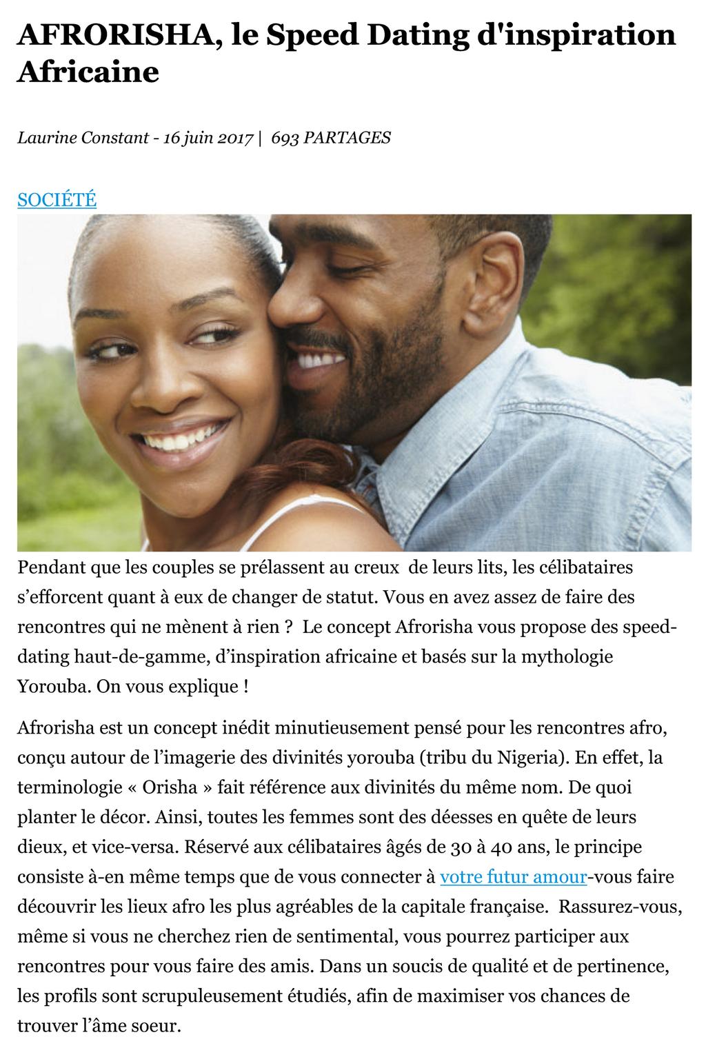rencontre Pariisi nopeus dating