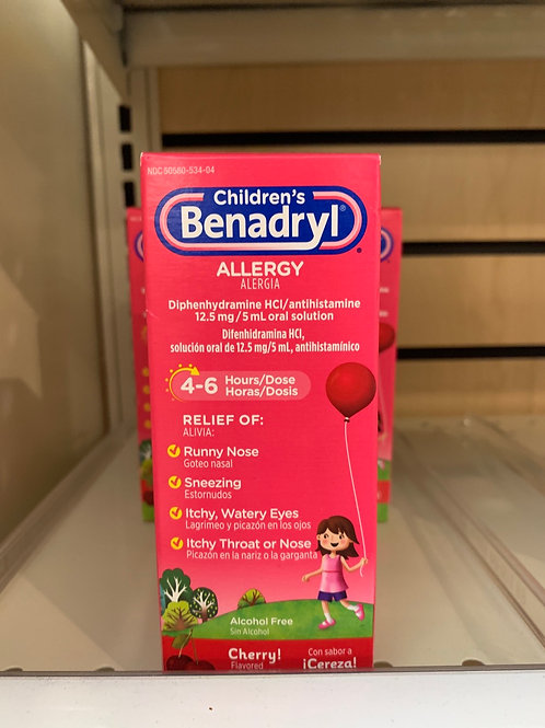 Benadryl Children's Allergy (cherry)