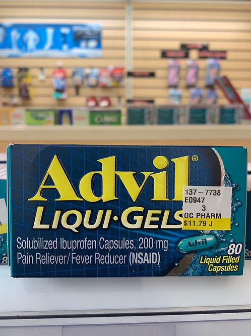 Advil Liqui-Gels 200 mg 80 count