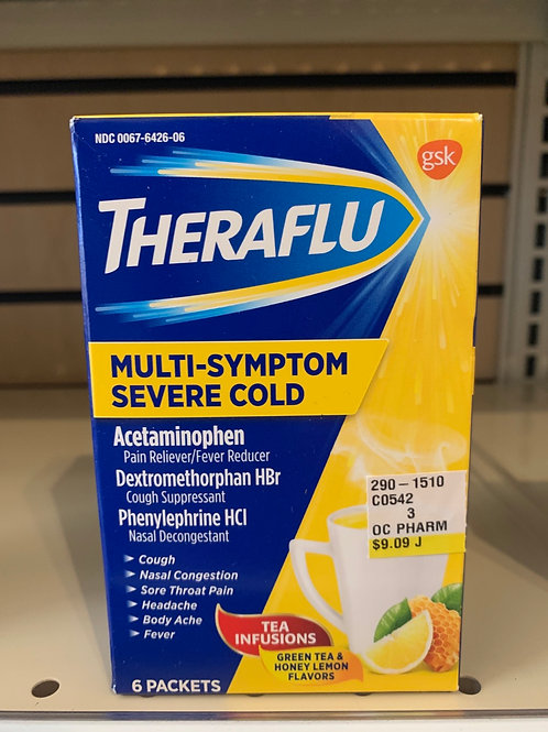 TheraFlu Multi-Symptom Severe Cold (lemon)