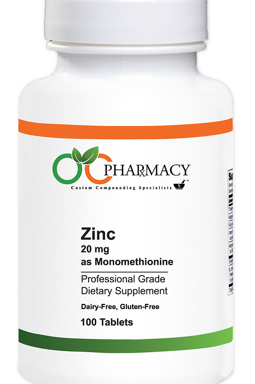 OCP Zinc 20 mg 100 ct