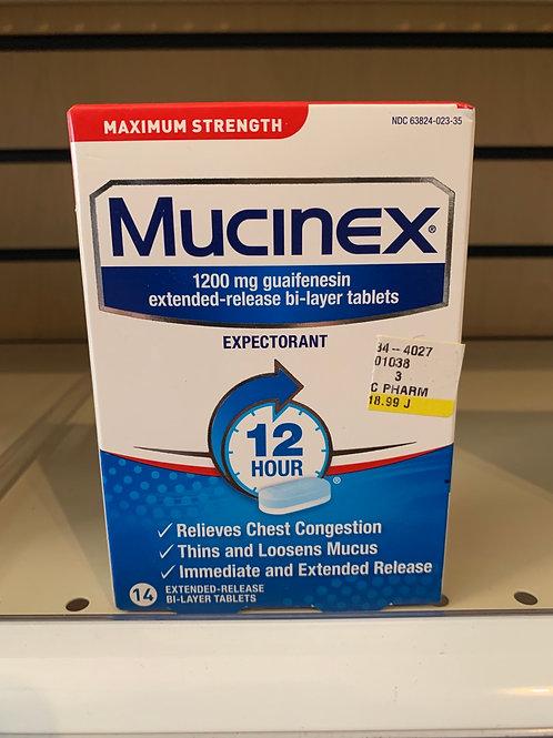 Mucinex 1200mg ER 14 count