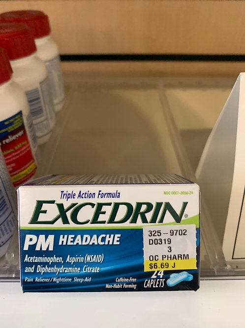 Excedrin  PM Headache 24 count