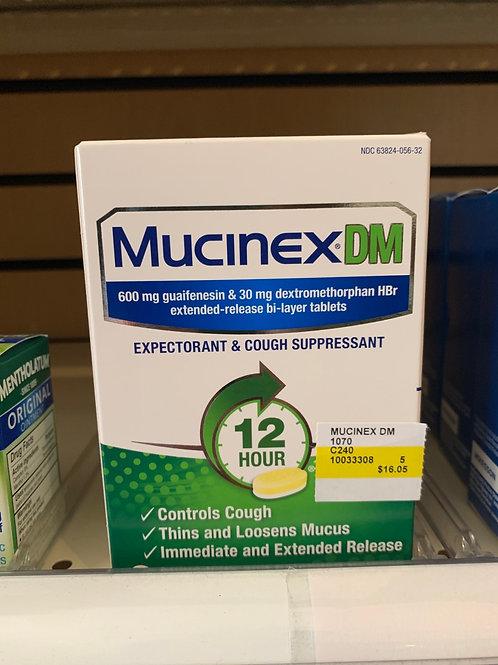 Mucknex DM 12 hour 20 count
