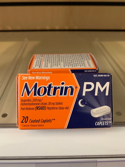 Motrin PM 20 count