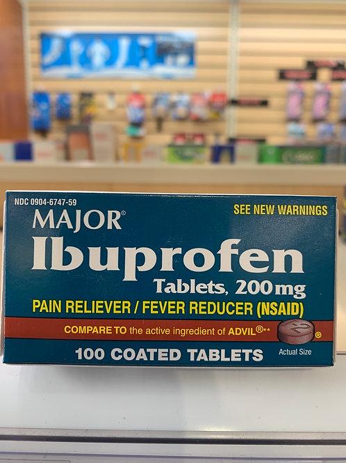 Major Ibuprofen Coated Tablets