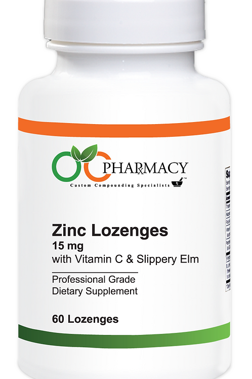 OCP Zinc Lozenges 60 ct